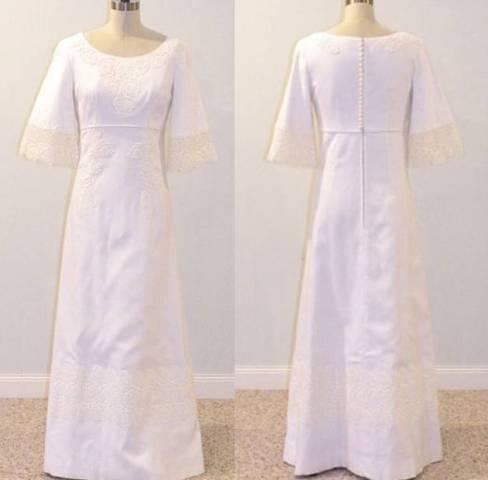 Vestidos de boda vintage en Etsy | gatapardablog